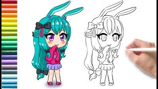 【How to】 Draw Gacha Life