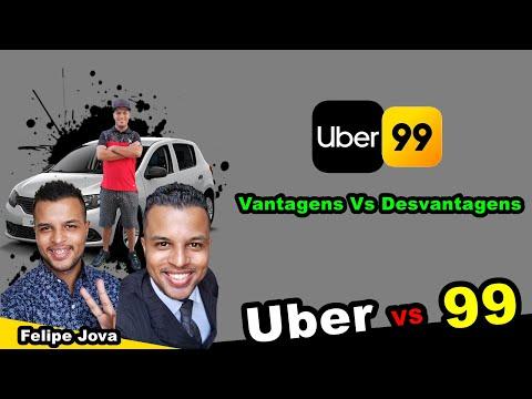 Uber Vs 99 - Vantagens e Desvantagens