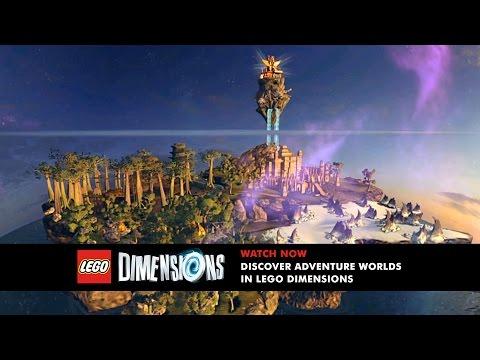 LEGO Dimensions: Unlock and Explore Adventure Worlds thumbnail