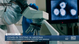 Thousands in Arizona to be tested for COVID-19 on weekends in May
