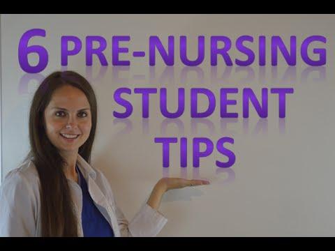 Pre Nursing Student School Advice | Tips on Studying, Applying ...