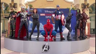 Marvel Summer of Super Heroes Opening Ceremony - Disneyland Paris