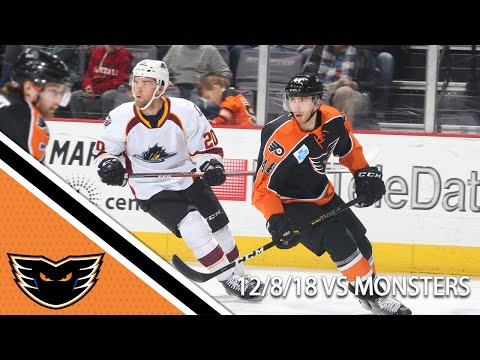Monsters vs. Phantoms | Dec. 8, 2018