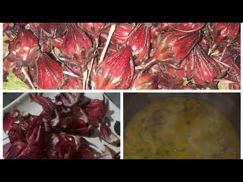 Roselle flower cooking recipe with mugh daal   মগুধালি