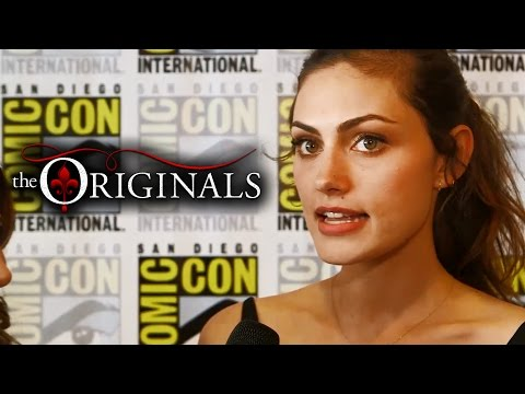 [THE ORIGINALS] PHOEBE TONKIN AL SAN DIEGO COMIC CON