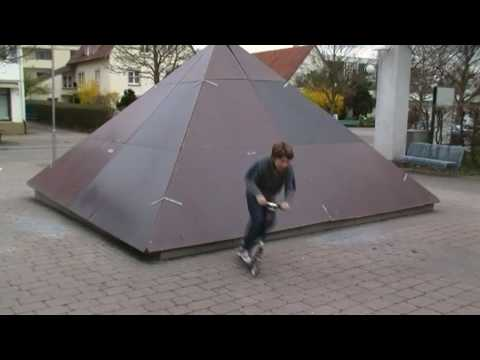Cityroller Tricks