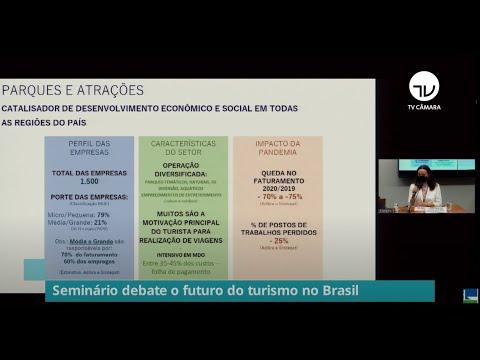 Seminário debate o futuro do turismo no Brasil - 01/10/21