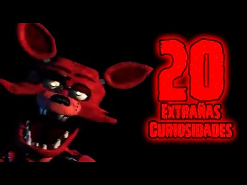 TOP 20: Las 20 Curiosidades Extrañas De Foxy En Five Nights At Freddy's | fnaf | fnaf 2