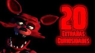 TOP 20: Las 20 Curiosidades Extrañas De Foxy En Five Nights At Freddy's   fnaf   fnaf 2