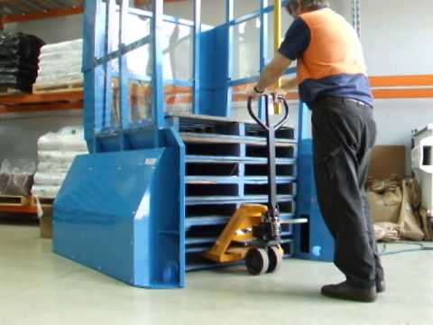 CHEP | 25 Pallet Dispenser / Accumulator