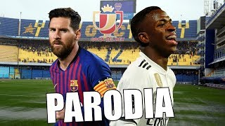 Canción Barcelona Vs Real Madrid (Parodia Daddy Yankee & Snow - Con Calma)