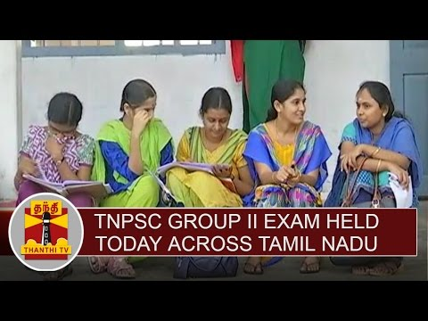 TNPSC-Group-II-exam-held-today-across-Tamil-Nadu-Thanthi-TV