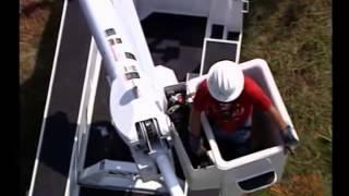 Altec L37M Bucket Truck Operation