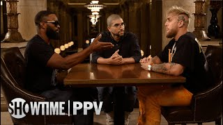 Jake Paul & Tyron Woodley MVP Face 2 Face Interview with Ariel Helwani   SHOWTIME PPV
