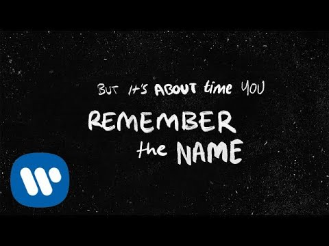 Ed Sheeran Remember The Name Feat Eminem Amp 50 Cent Official Lyric Video