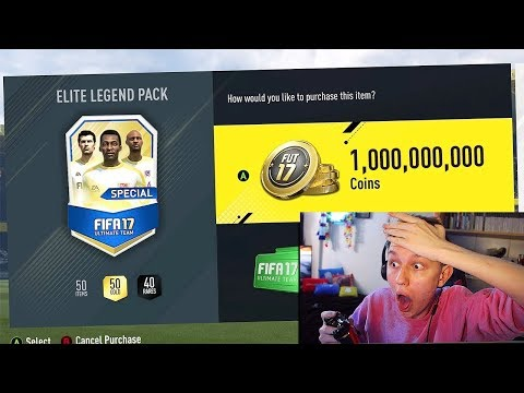 *NEW* 1 BILLION COIN PACK!! 😱🚫 - (FIFA 17)