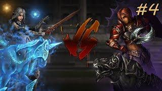 Наточенная битва - Dark Avenger VS Elemental Summoner - Выпуск #4