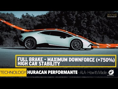 Lamborghini Huracan Performante HOW IT'S MADE the ACTIVE AERODYNAMICS | ALA [GOMMEBLOG]