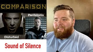 """Sound of Silence"" Comparison 