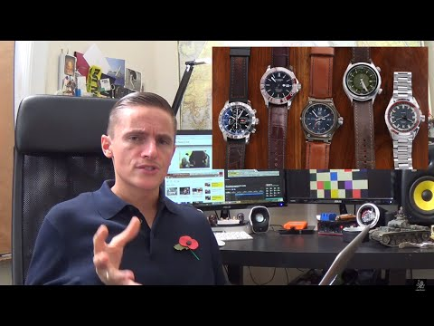 The John Price Watch Collection Review – Chopard Mille Miglia,  CWard Trident C60, Squale 1521