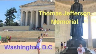 JEFFERSON MEMORIAL | THIRD PRESIDENT OF THE UNITED STATES | WASHINGTON, D.C