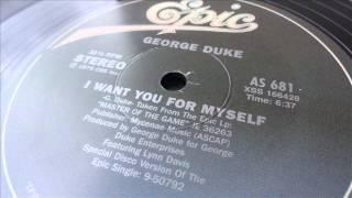 george duke - I want you for myself (12'' version)