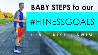 Taking Baby Steps to Our Fitness Goals |Jogging Vlog | Starting Weight