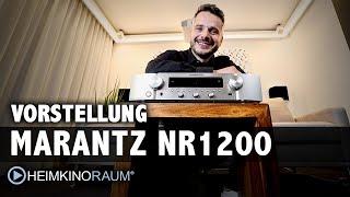 Vorstellung Marantz NR 1200 Stereo Receiver Test