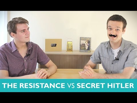 Which is Greater? The Resistance Vs Secret Hitler