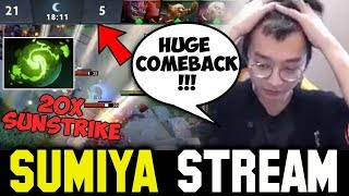 21-5 BIG Comeback with Refresher Cataclysm | Sumiya Invoker Stream Moment #445