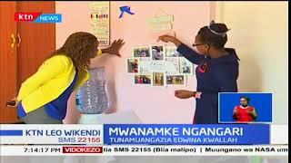 Mwanamke Ngangari:Tunamuangazia Edwina Kwallah,anashughulika na kuokoa wasichana kukwepa ukeketaji