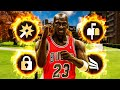 *RARE* PRIME MICHAEL JORDAN BUILD is OVERPOWERED in NBA 2K21   BEST ALL-AROUND SF BUILD