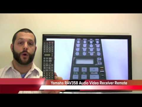 YAMAHA RAV358 Audio/Video Receiver Remote Control