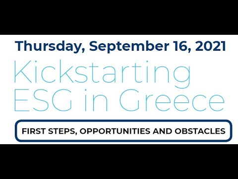 Kickstarting ESG in Greece: First steps, opportunities and obstacles