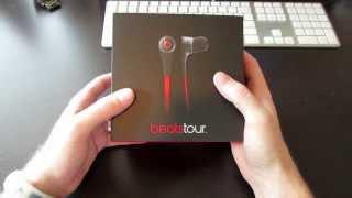 Beats Tour 2.0 In-Ear Headphones (unboxing)