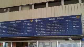 preview picture of video '[HD] Szolnok vasútállomás utastájékoztató 2014.04.07 17:16:35'