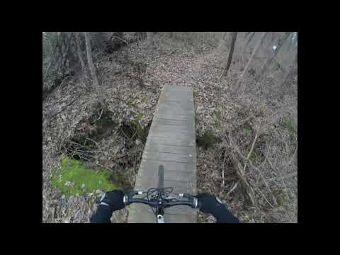 Trail Riding at Rock Springs Park, O'Fallon, Illinois