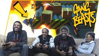 The Most EPIC Kill You'll See! How Did He Do That?! - Gang Beasts Gameplay