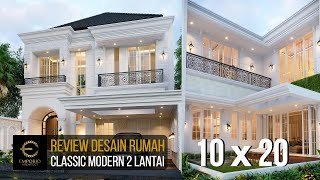 Video Desain Rumah Classic Modern 2 Lantai Ibu Suci di  Depok, Jawa Barat