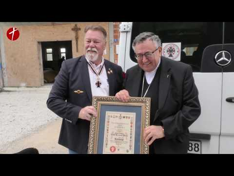 Donacija viteškog reda Caritasu Vrhbosanske nadbiskupije
