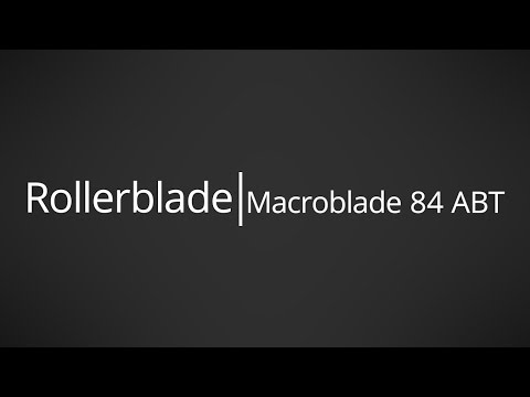 Video: 2017 Rollerblade Macroblade 84 ABT Mens and Womens Inline Skate Overview by InlineSkatesDotCom