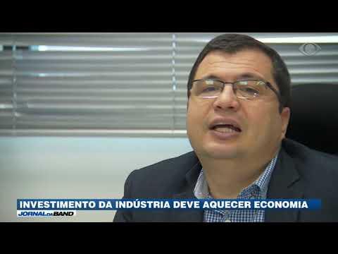 Investimento da indústria deve aquecer economia
