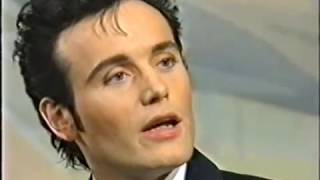 Adam Ant's interview on the BBC's Wogan Show