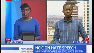 NCIC says it is  still investigating hate speech utterances by Moses Kuria