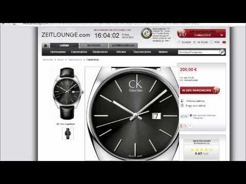Calvin Klein Uhren - www.zeitlounge.com