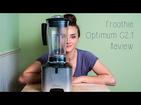 Froothie Optimum G2.1 Platinum Series Vortex blender review