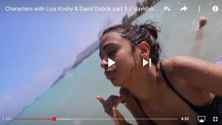 Characters with Liza Koshy & David Dobrik part 5 // davidxliza