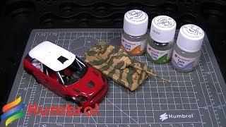 Лак глянцевый для сборных пластиковых моделей 28 мл. HUMBROL 5501 от компании Хоббинет. Сборные модели. - видео