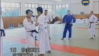 №10 O-SOTO-GARI #ХиротакоОкадо #Дзюдо в Японии техника #бросков