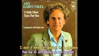 ART GARFUNKEL  -  I ONLY HAVE EYES FOR YOU  Subtítulos Español & Inglés